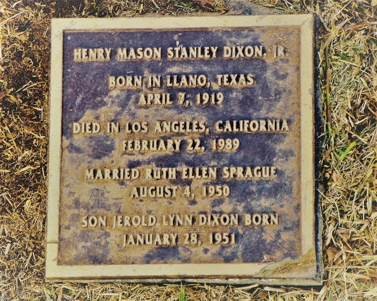 Henry Mason Stanley Dixon, Jr.