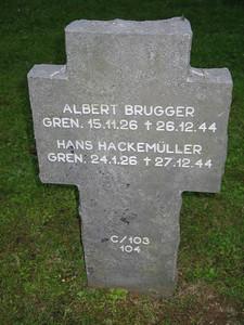 Albert Brugger / Hans Hackemuller