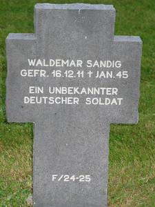 Waldemar Sandig / Ein Unbekannter Deutscher Soldat