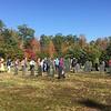 Marlborough NH Historical Society cemetery tour October 14, 2017.