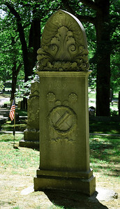 Alcott Family Marker at Sleepy Hollow Cemetery