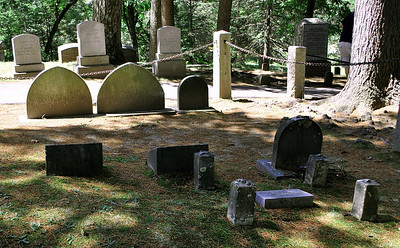 The Hawthorne Family Plot at Sleepy Hollow Cemetery