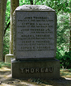 Thoreau Family Gravestone
