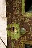Rusty Mausoleum Door, Grandview Cemetery, Chillicothe, Ohio