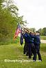 Memorial Day Celebration at Jackson Cemetery, Iowa County, Wisconsin