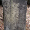 Inscription: Elizabeth J. Mason Wife of Marcus L. Midgett Born Jan. 18 1837 Died Nov. 14 1880<br /> <br /> Spouse: Marcus L. [Lafayette] Midgett (1839-1889)