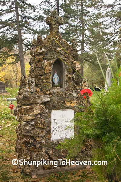 St Joseph Convent Cemetery., Houston County, Minnesota