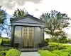 Private mausoleum, no name visible