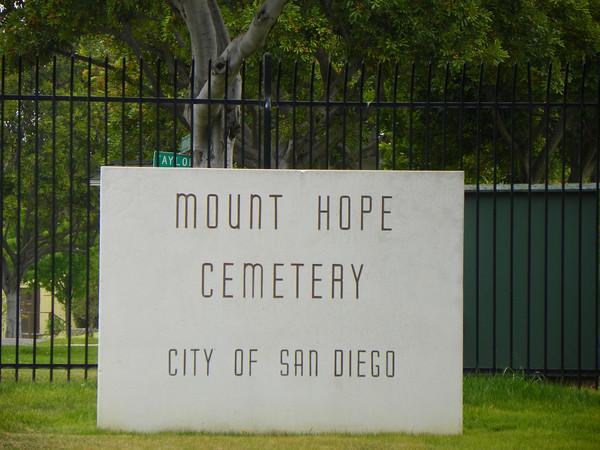 Mount Hope Sign