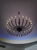 Beautiful chandelier in the lobby of the Chapel