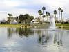 Pond - Fountain - Palms
