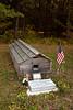 Veteran of World War II and Korean War, Ojibwe Burial Ground, Sawyer County, Wisconsin