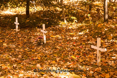 Native American Cemetery, Rural America