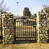 One of my greatest sadnesses is a locked cemetery gate...
