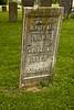 Pioneer Gravestone, Mt. Pleasant Presbyterian Cemetery, Ross County, Ohio