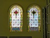 Dual stained glass windows