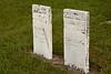 Revolutionary War Veteran Robert Bailey and Wife, Shooks Prairie Cemetery, Green County, Wisconsin