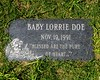 Baby Lorrie Doe, abandoned newborn