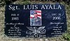 "Sgt. Luis Ayala<br /> <a href=""http://projects.latimes.com/wardead/name/luis-g-ayala/"">http://projects.latimes.com/wardead/name/luis-g-ayala/</a>"