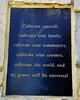 Wisdom of Tao at the entrance to Sky Ridge - 2