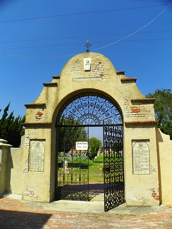 Like all non-Jewish cemeteries, San Gabriel Mission Cemetery is open every day.