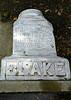 Wm. Blake<br /> Feb. 16, 1812<br /> Dec. 2, 1897<br /> At Rest