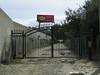 Padlocked Main Gate