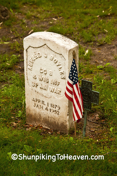 Spanish American War Veteran's Grave, Forest Hill Cemetery, Madison, Wisconsin