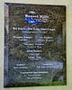 Chapel dedication plaque