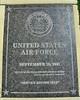 Garden of Valor Air Force Plaque