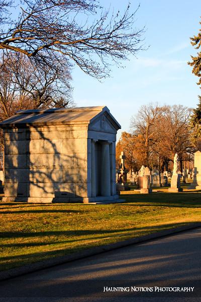 Welcome To The Neighborhood (Mount Olivet Cemetery,  Detroit MI)