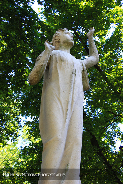 Reach For The Sky (Elmwood Cemetery, Detroit MI)