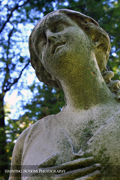 Smile Even Though You're Breaking (Elmwood Cemetery, Detroit MI)