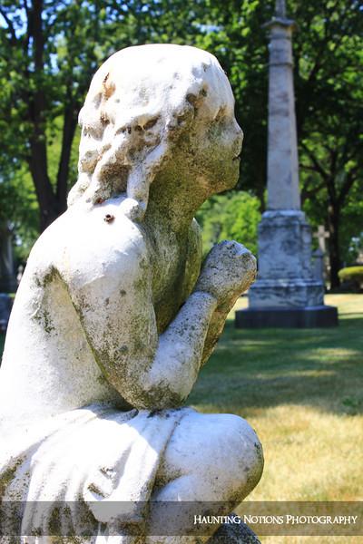 Melting, Melting (Mount Elliott Cemetery, Detroit MI)
