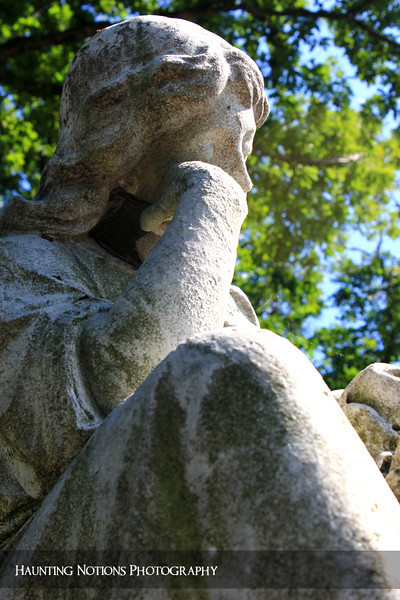 From Another Angle (Elmwood Cemetery, Detroit MI)