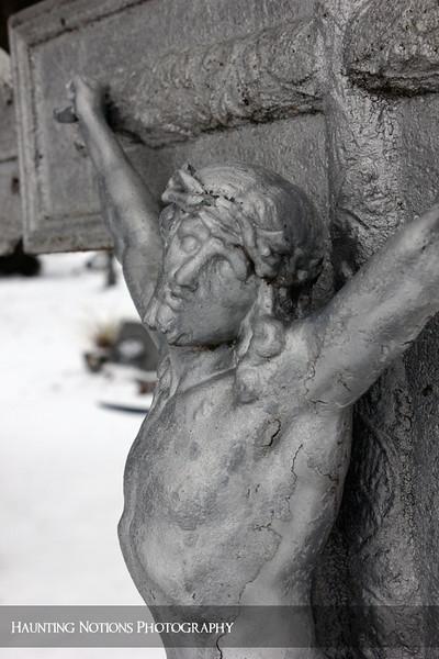 Crucified (Saint Stanislaus Cemetery, Dorr MI)