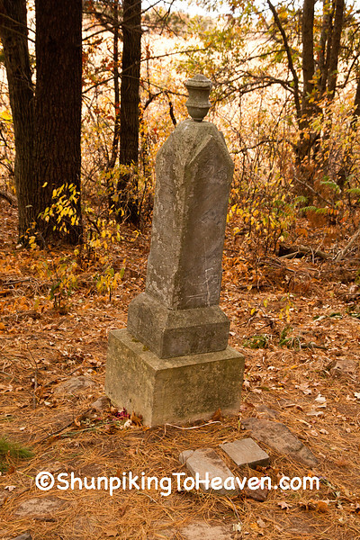 Diphtheria Cemetery, Jackson County, Wisconsin