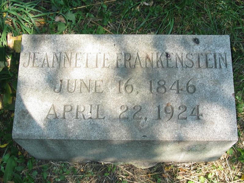 Jeannette Frankenstein