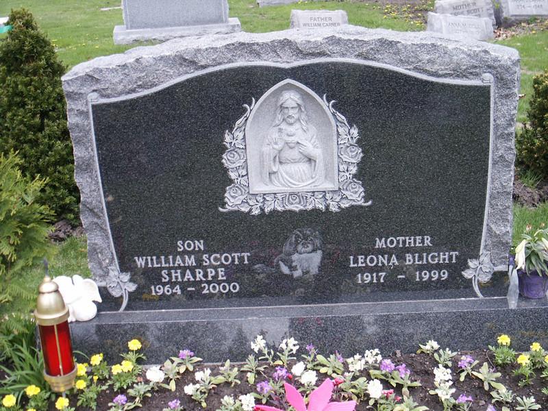 William Scott Sharpe & Leona Blight