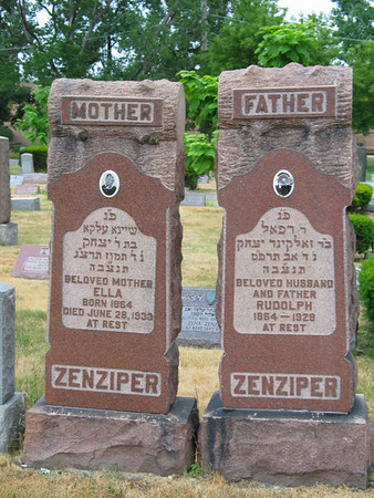 Ella & Rudolph Zenziper