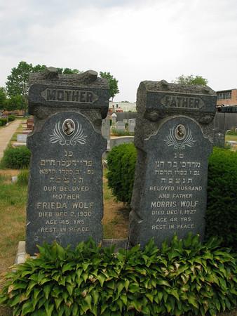 Frieda & Morris Wolf