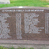 Letchinger Family Club Memoriam