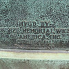 Mfgd. by Bronze Memorial Wks. of America, Inc.