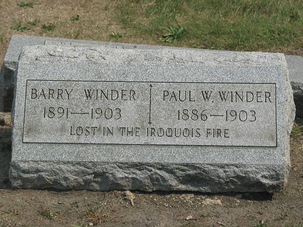 Barry Winder, Paul Winder