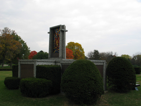 Stained glass (Eternal flame)