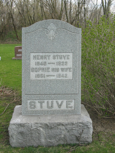 Henry and Sophie Stuve