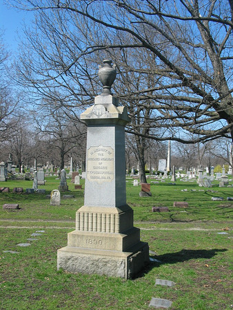 In memory of deceased members of Chicago Typographical Union, No. 18