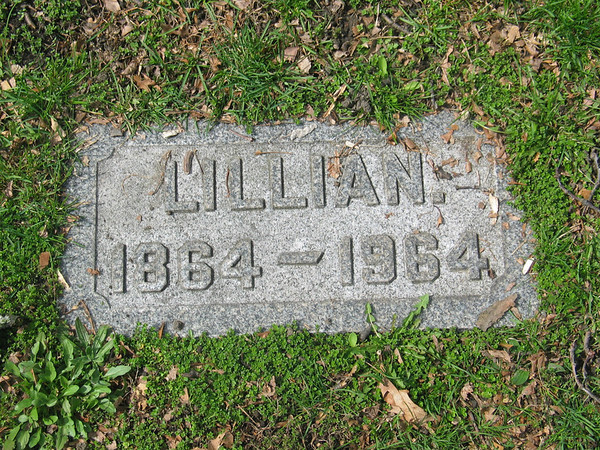 Lillian 1864-1964