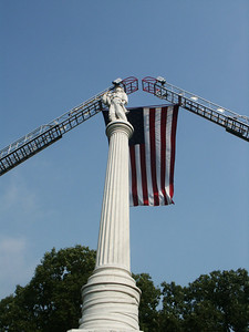 Volunteer Firefighter Monument