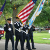 CFP Color Guard and the AFFI Honor Guard